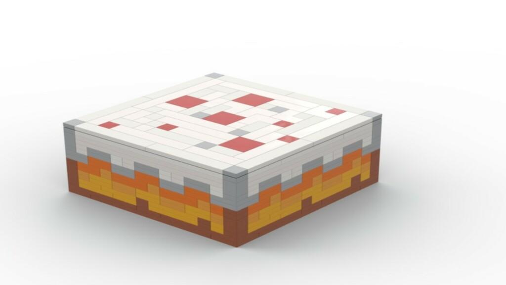 Cake in Minecraft