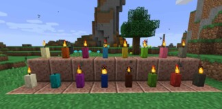 Candle in Minecraft