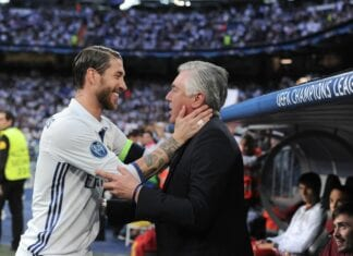 Carlo Anceloti and Sergio Ramos
