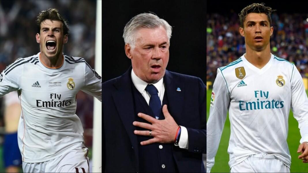 Carlo Ancelotti has his say on Ronaldo and Bale