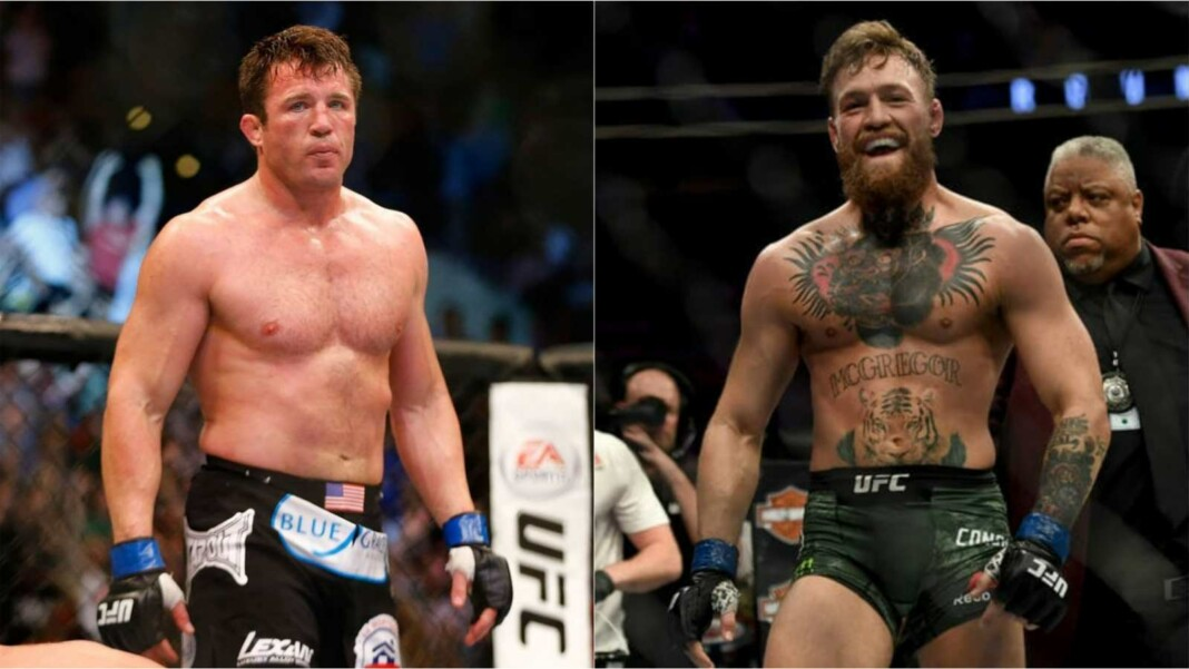 Chael Sonnen and Conor McGregor