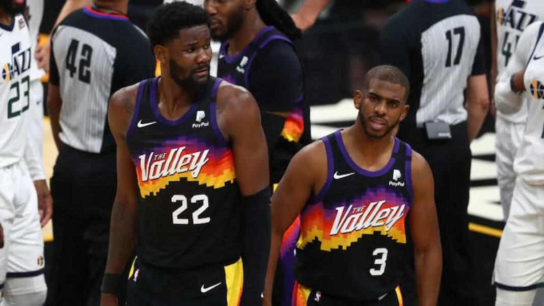 Chris Paul Deandre Ayton Suns vs Clippers Game 2