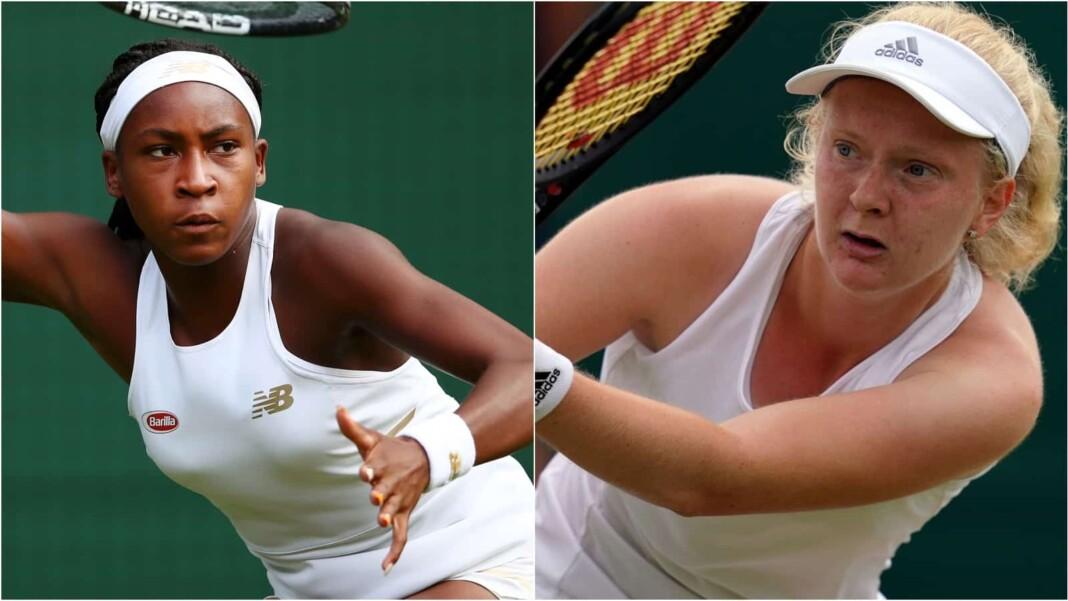 Coco Gauff vs Francesca Jones will clash in the opening round of the Wimbledon 2021
