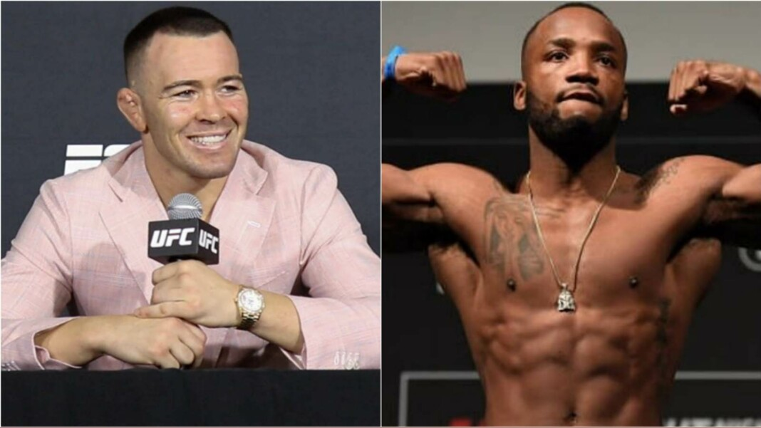 Colby Covington and Leon Edwards