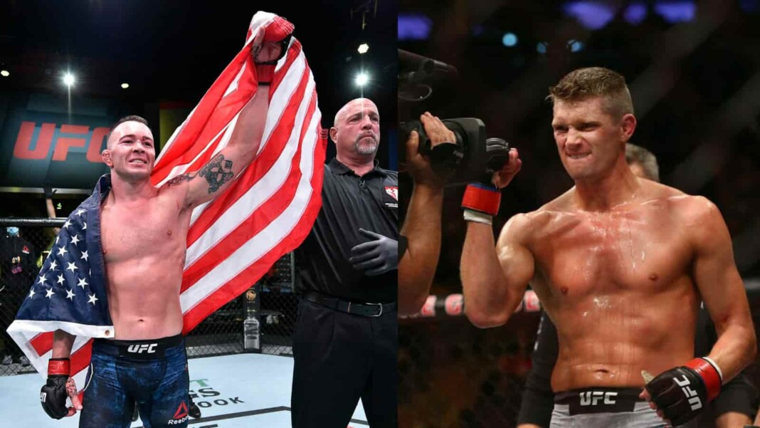 Colby Covington and Stephen Thompson