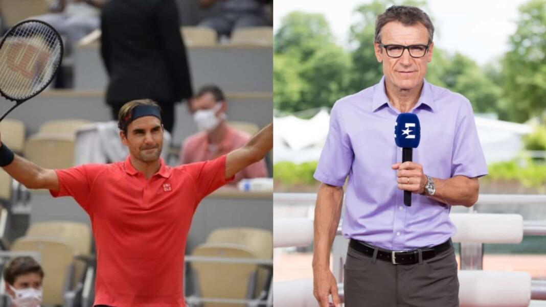 Roger Federer and Mats Wilander