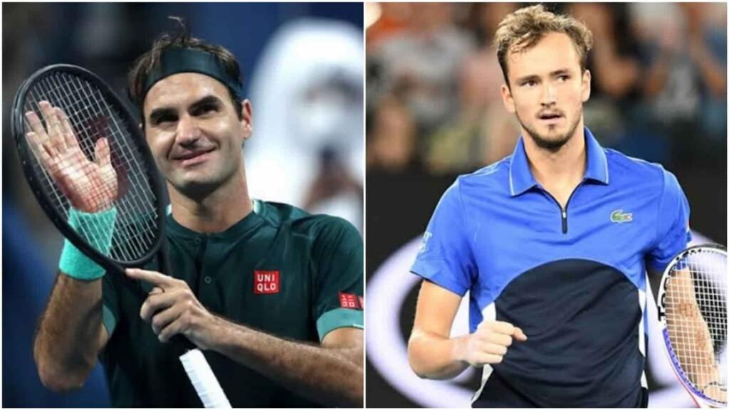 Roger Federer, Daniil Medvedev