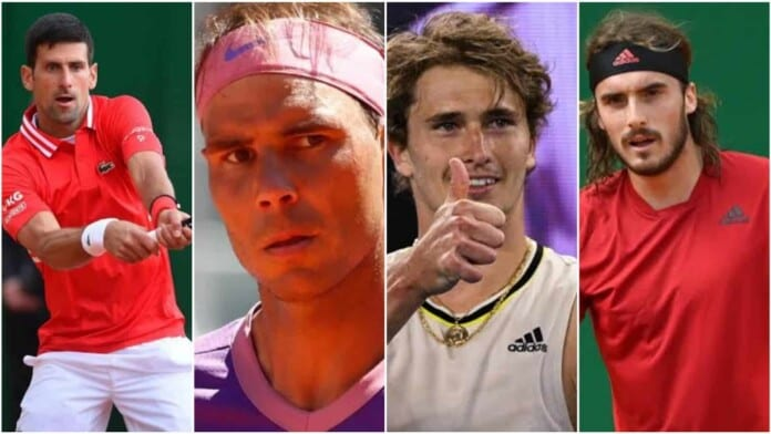 French Open 2021 semifinalists
