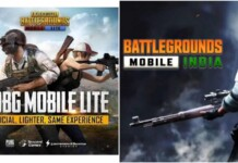 PUBG Mobile Lite and Battlegrounds Mobile India Similarities