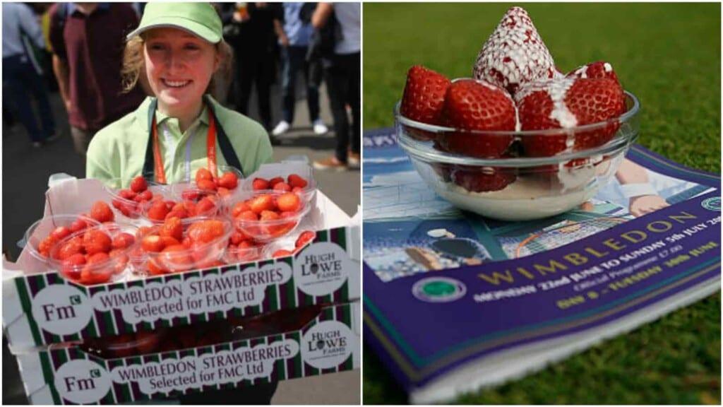 Strawberries and Cream at Wimbledon
