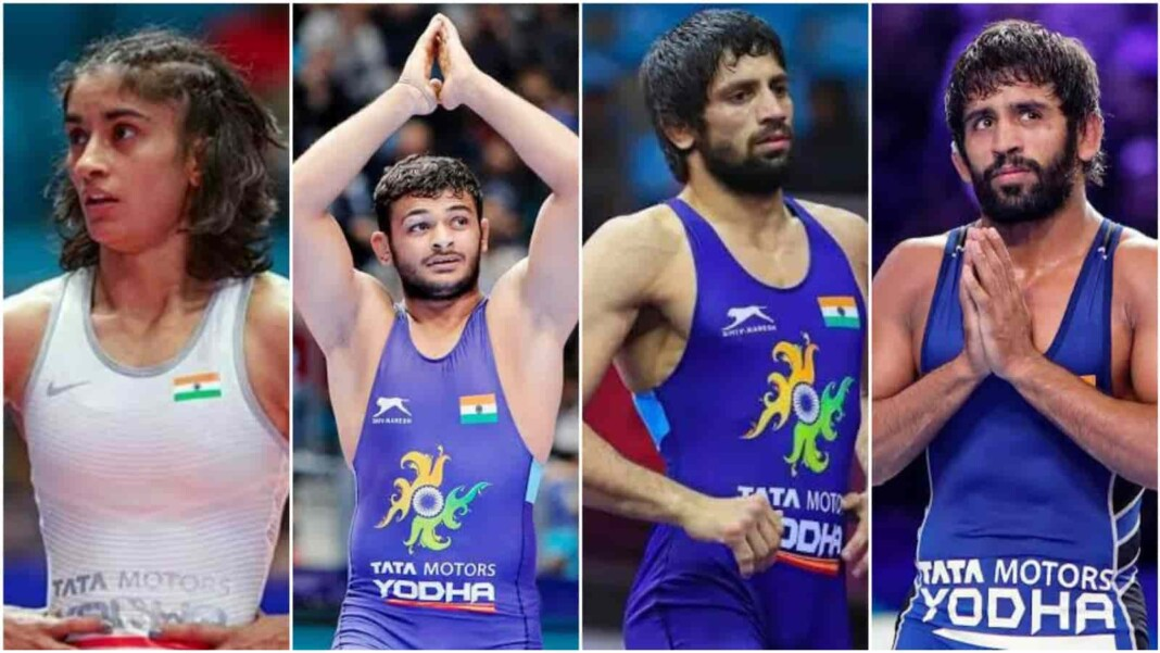 4 Indian wrestlers seeded in top 4 at the Tokyo Olympics