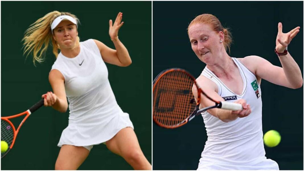 Elina Svitolina vs Alison Van Uytvanck