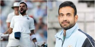 Irfan Pathan and Virat Kohli