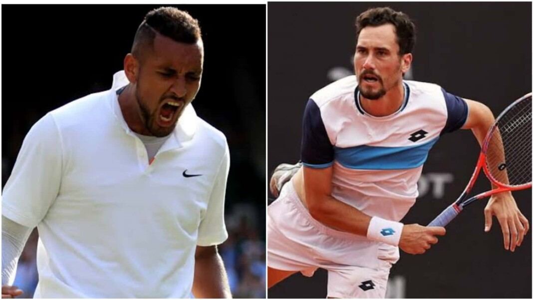 Nick Kyrgios and Gianluca Mager