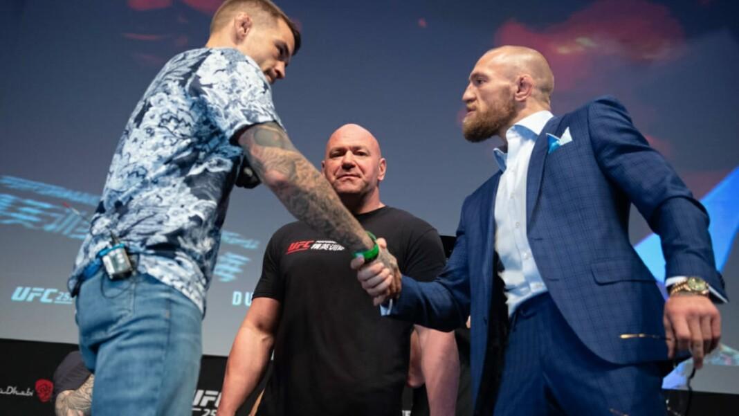 Conor McGregor vs Dustin Poirier UFC 264