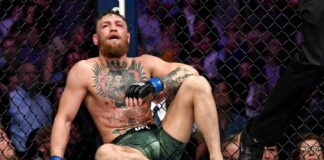 Conor McGregor knock out