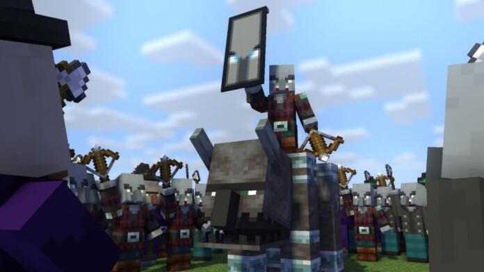 Crossbow in Minecraft