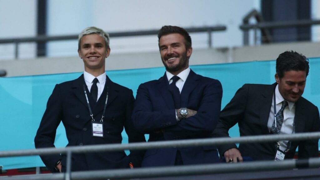 David Beckham in attendance