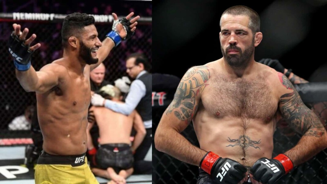 Dhiego Lima and Matt Brown