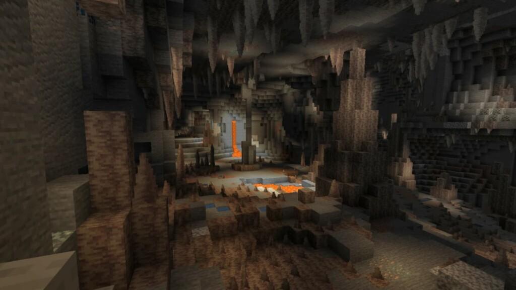Dripstones in Minecraft