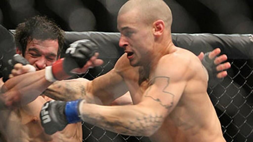 Dustin Poirier UFC debut