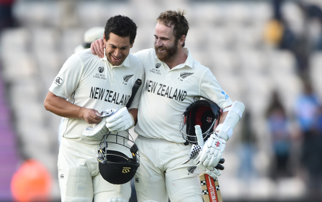 Kane Williamson and Ross Taylor in WTC Final