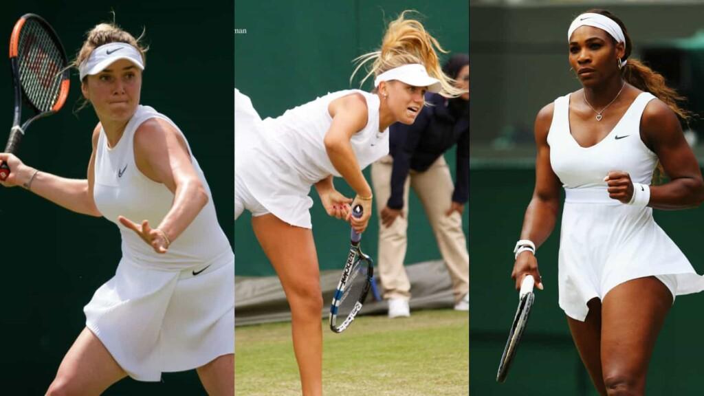 Elina Svitolina, Sofia Kenin, Serena Williams