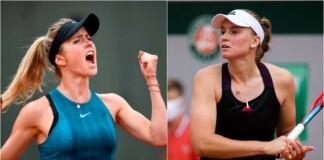 Elina Svitolina vs Elena Rybakina will clash in the 2nd round of the WTA Eastbourne 2021
