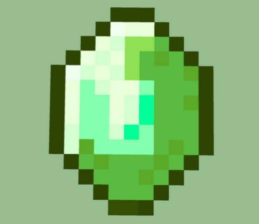 Emeralds in Minecraft