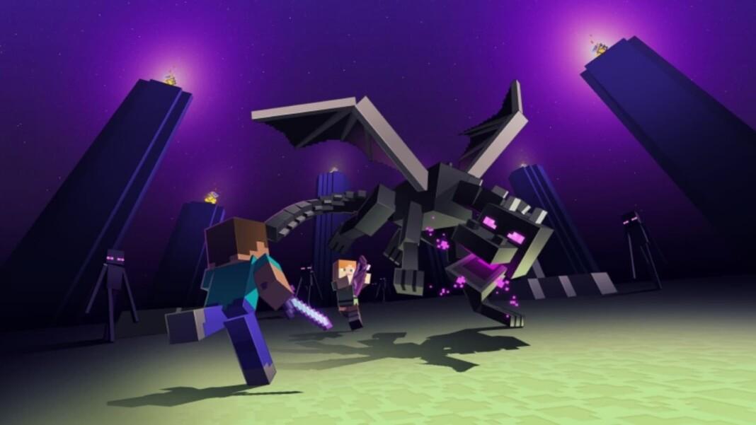 Ender Dragon in Minecraft