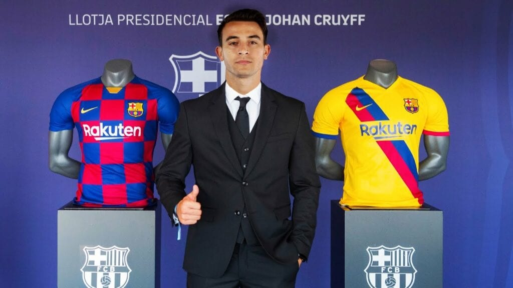 Eric Garcia signs for FC Barcelona