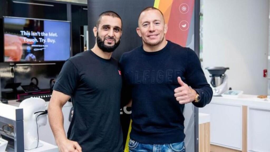 Firas Zahabi and GSP