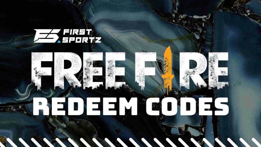 Free Fire redeem codes