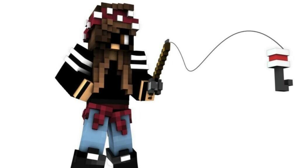 Fishing Rod in Minecraft