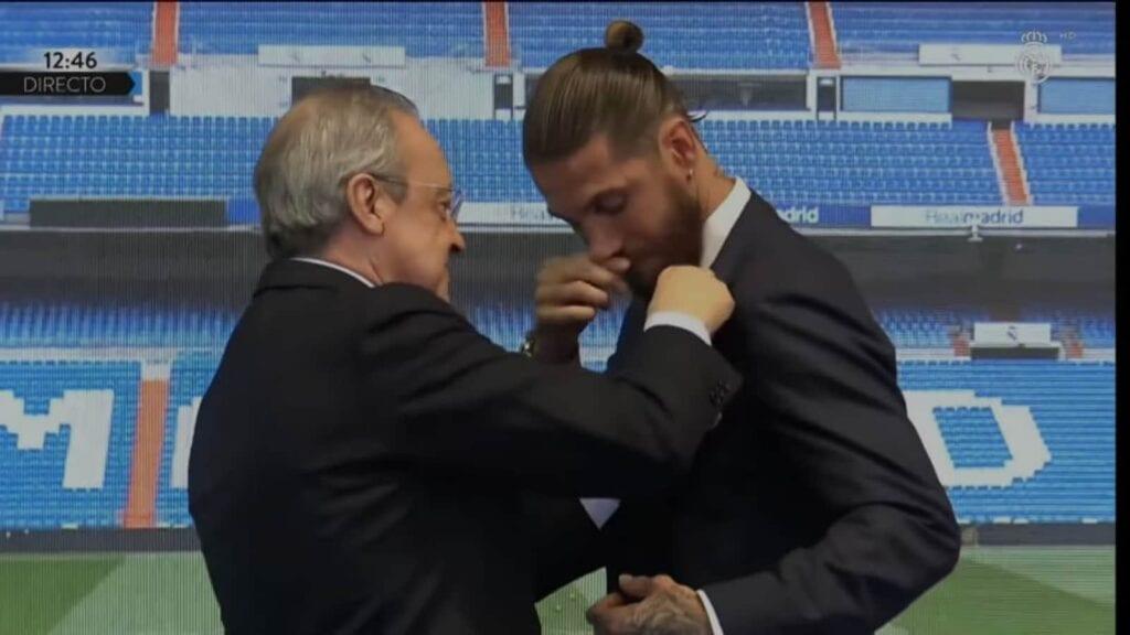 Florentino Perez and Ramos