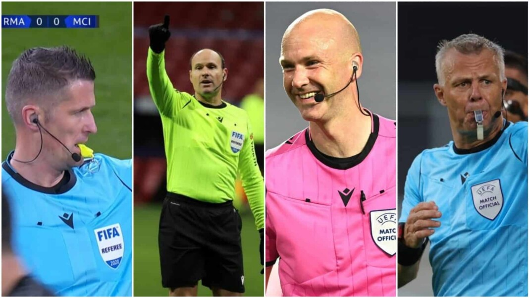 Football referees for EURO 2020