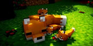 Fox in Minecraft