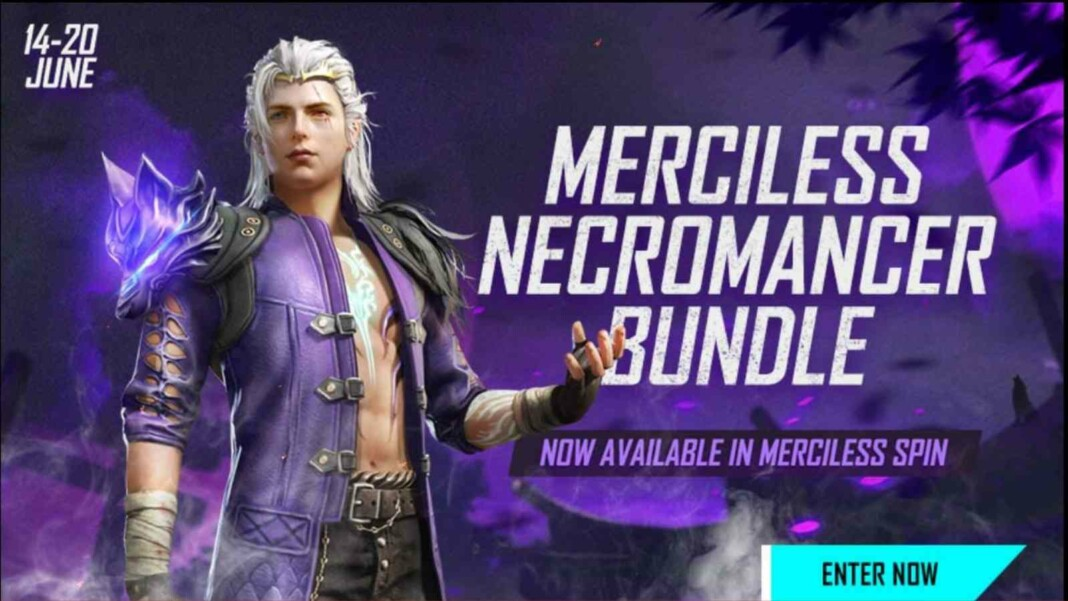 Free Fire Merciless Necromancer Bundle