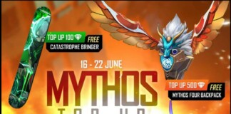Free Fire Mythos Top up