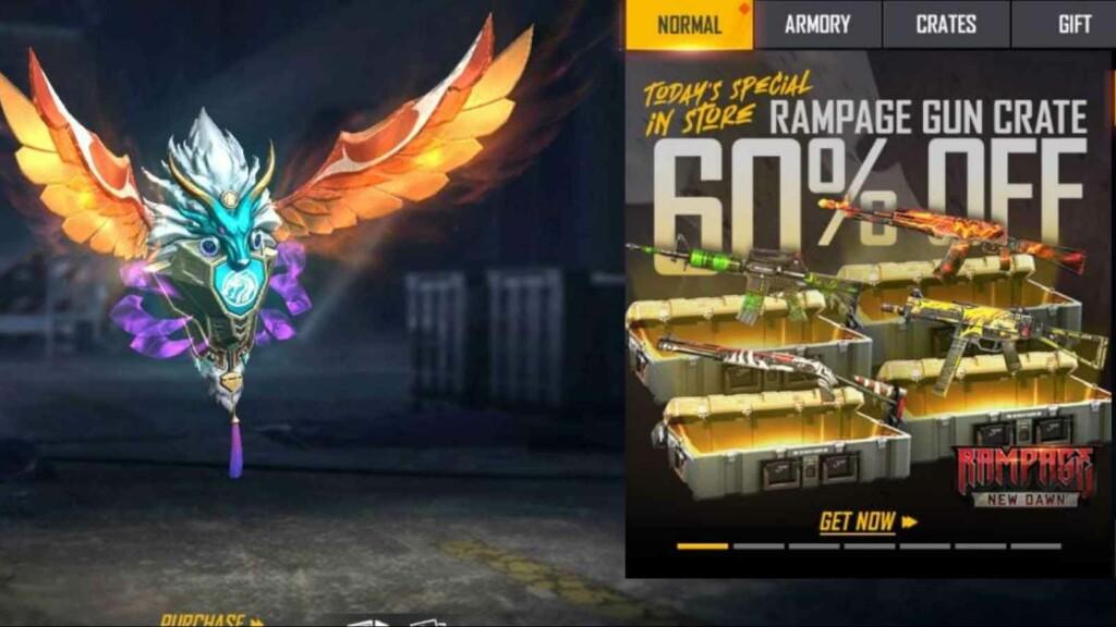 Free Fire Rampage Gun Crate