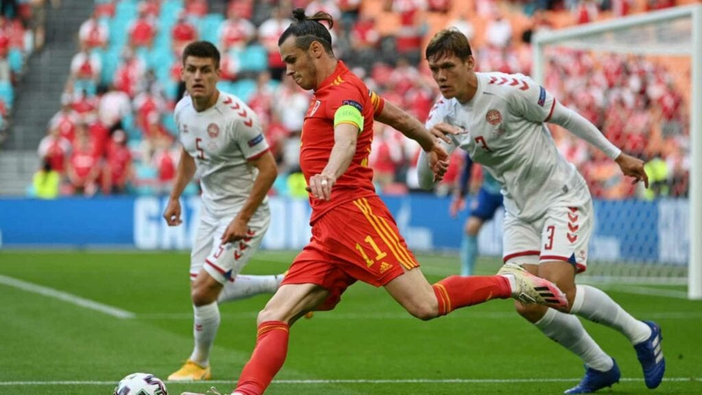 Gareth Bale in action for Wales