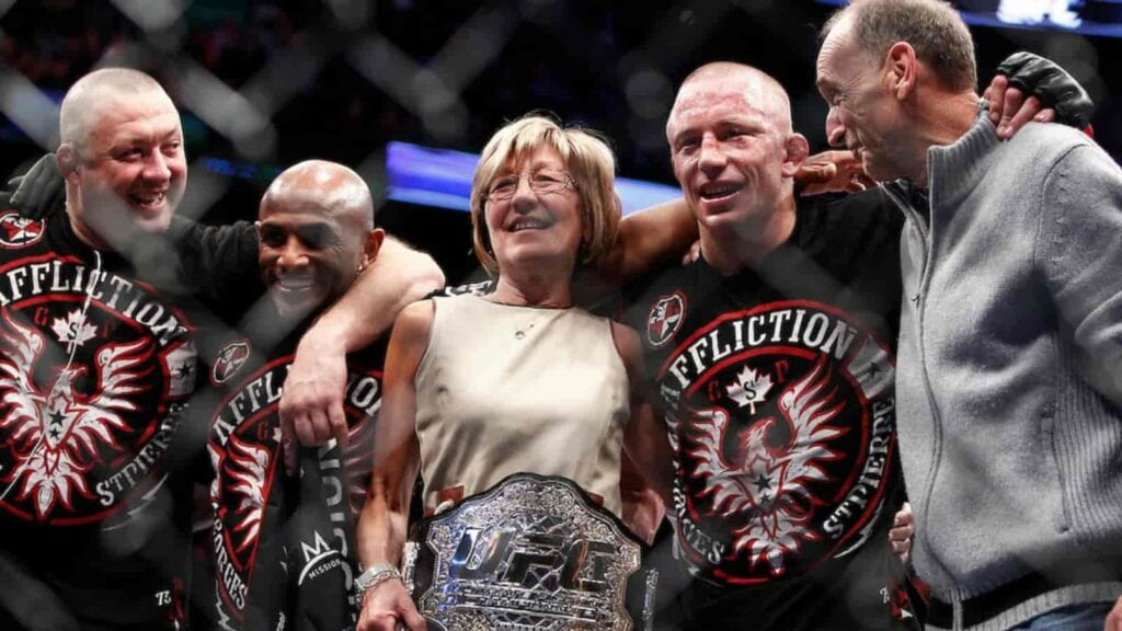 Georges St Pierre family