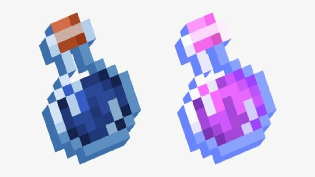 Glass Bottle in Minecraft