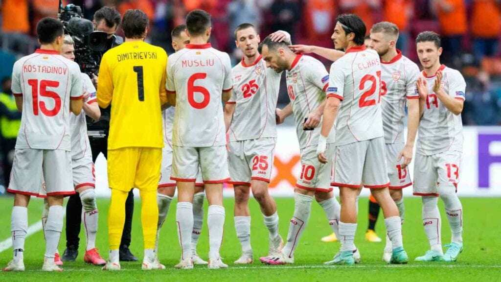 Goran Pandev's 122nd and final game for North Macedonia