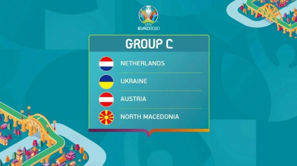Group C EURO 2020 schedule