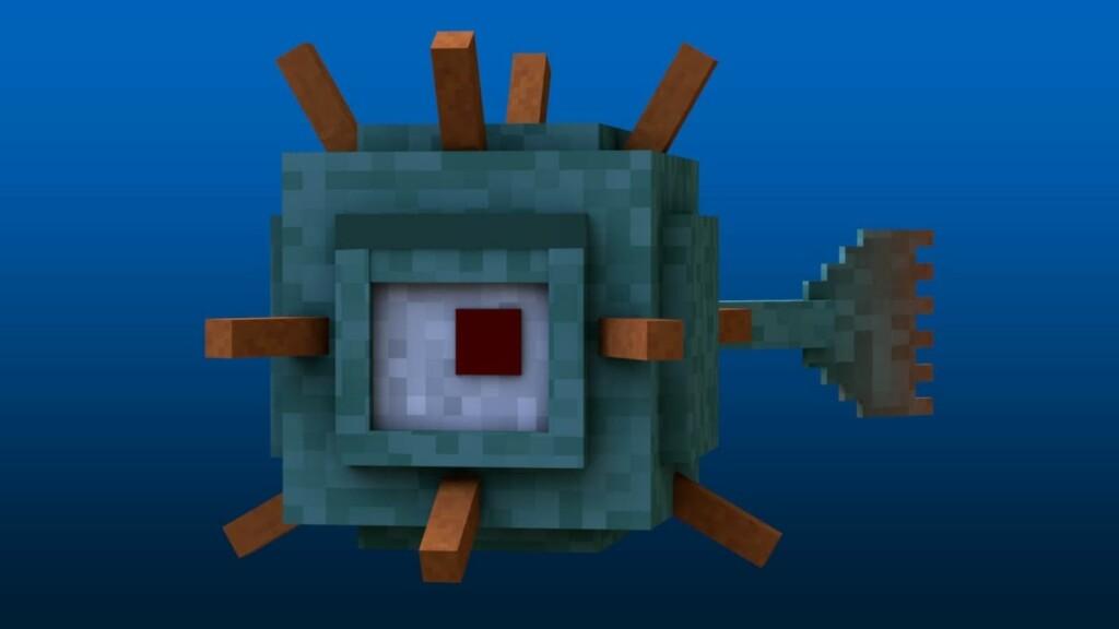 Guardian in Minecraft