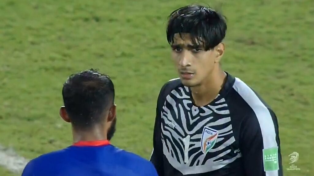 Gurpreet Singh Sandhu was in inspirational form in goal for India