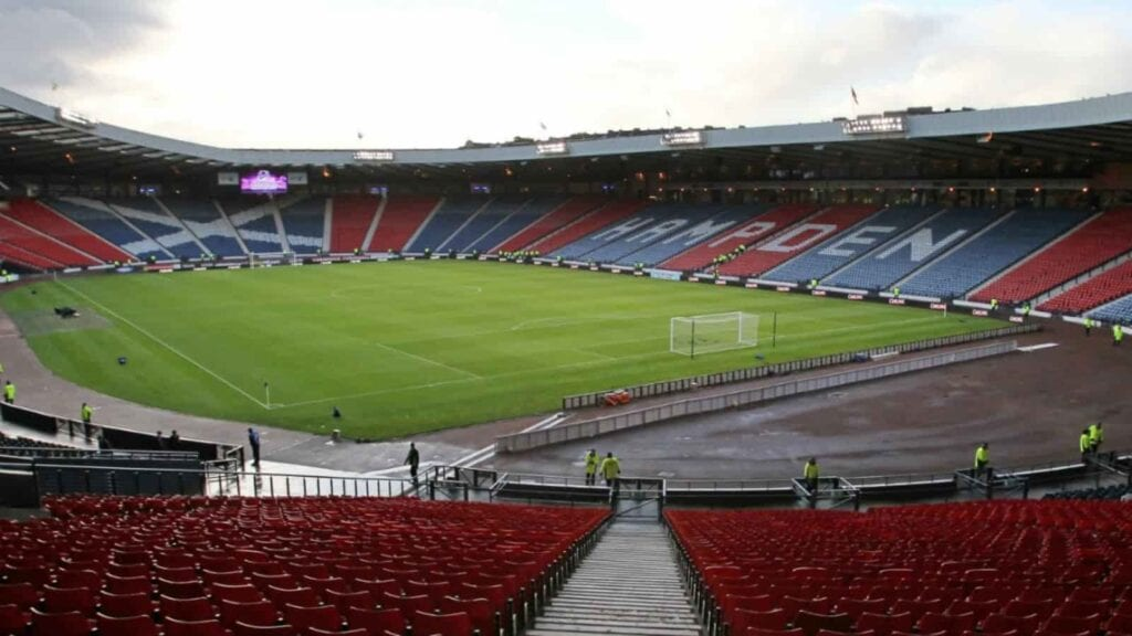 Hampden Park will host 4 matches in the EURO 2020