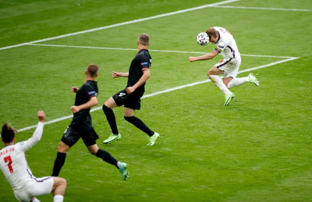 Harry Kane scored the second goal
