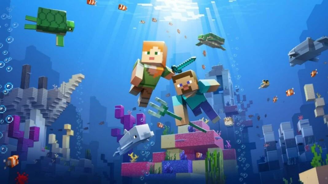 Heart of the Sea in Minecraft